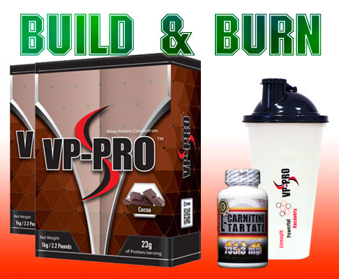 Products to burn fat and build muscle mass