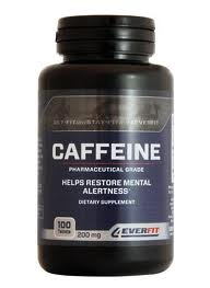 4EVERFIT Caffeine 200 mg. ��Ҵ 100 ���