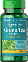 Green Tea Extract 315 mg - 100 capsules