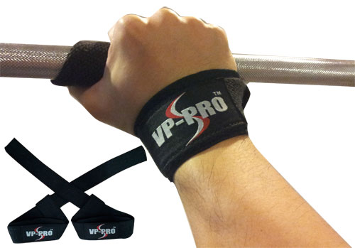 VP-PRO Padded Lifting Straps